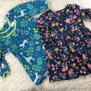 Le-top & Carter's size 24 month long sleeve dress